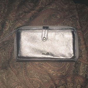 Wallet and phone holder